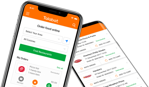 Order food online from delivery restaurants in UAE | Talabat
